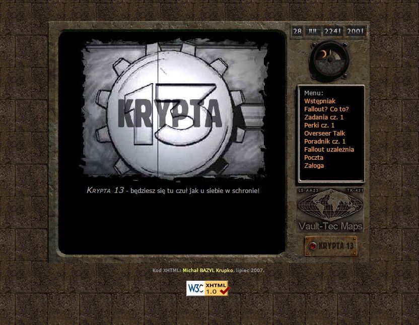 Krypta 13 #001 - czerwiec 2000