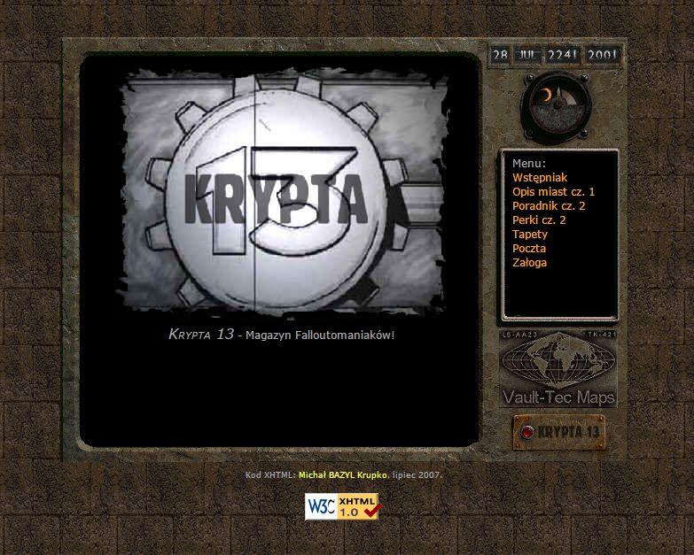 Krypta 13 #002 - lipiec 2000