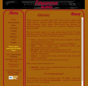 Pierwszy numer Tawerny RPG w wersji odrestaurowanej