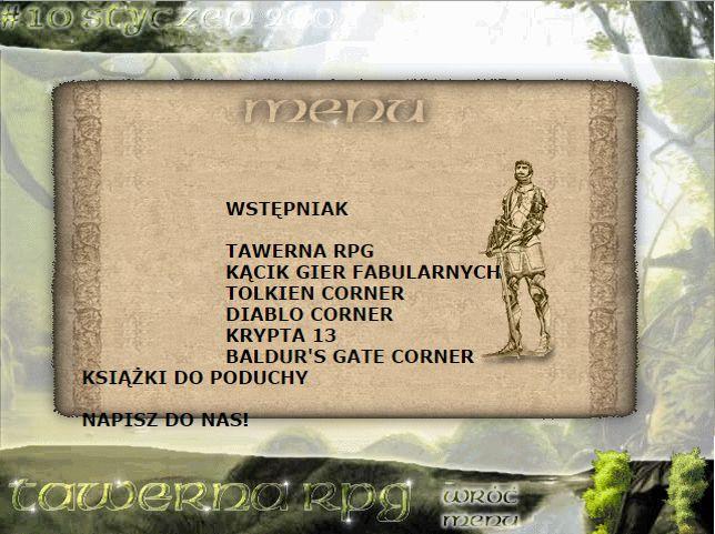 Tawerna RPG #010 - styczeń 2001