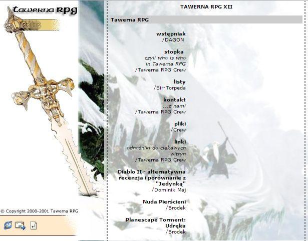 Tawerna RPG #012 - marzec 2001