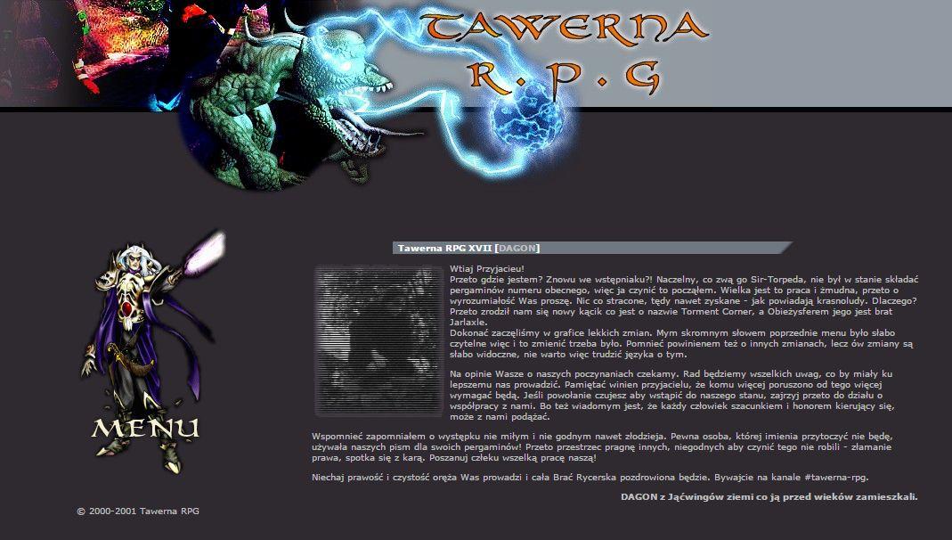 Tawerna RPG #018 - wrzesień 2001