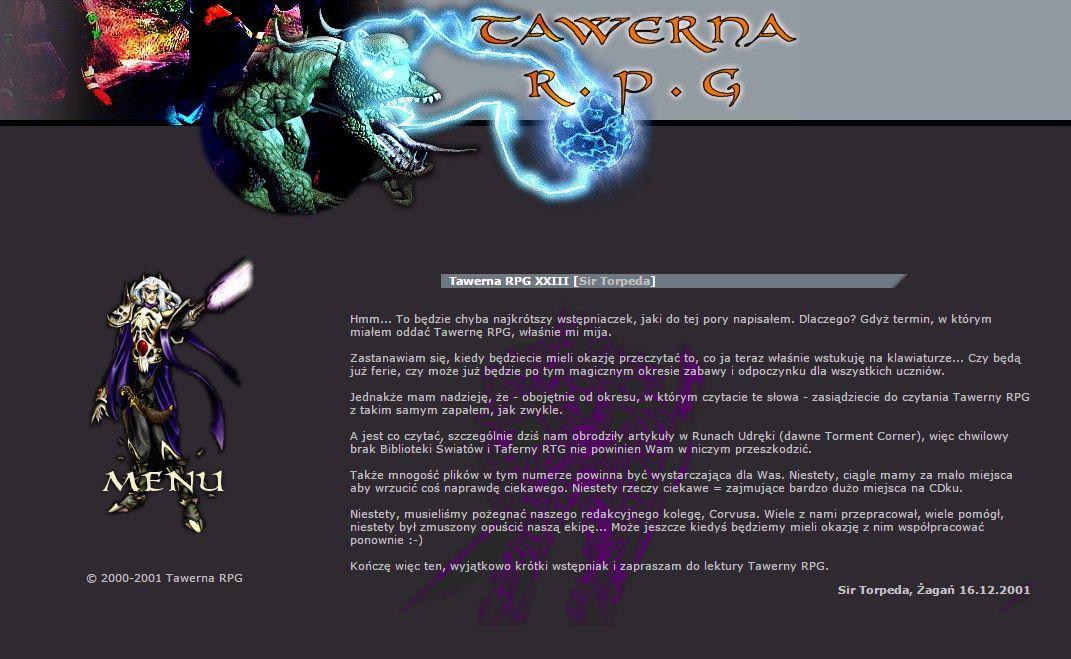Tawerna RPG #023 - luty 2002