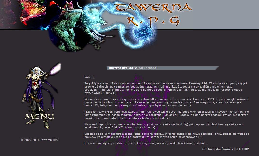 Tawerna RPG #024 - marzec 2002