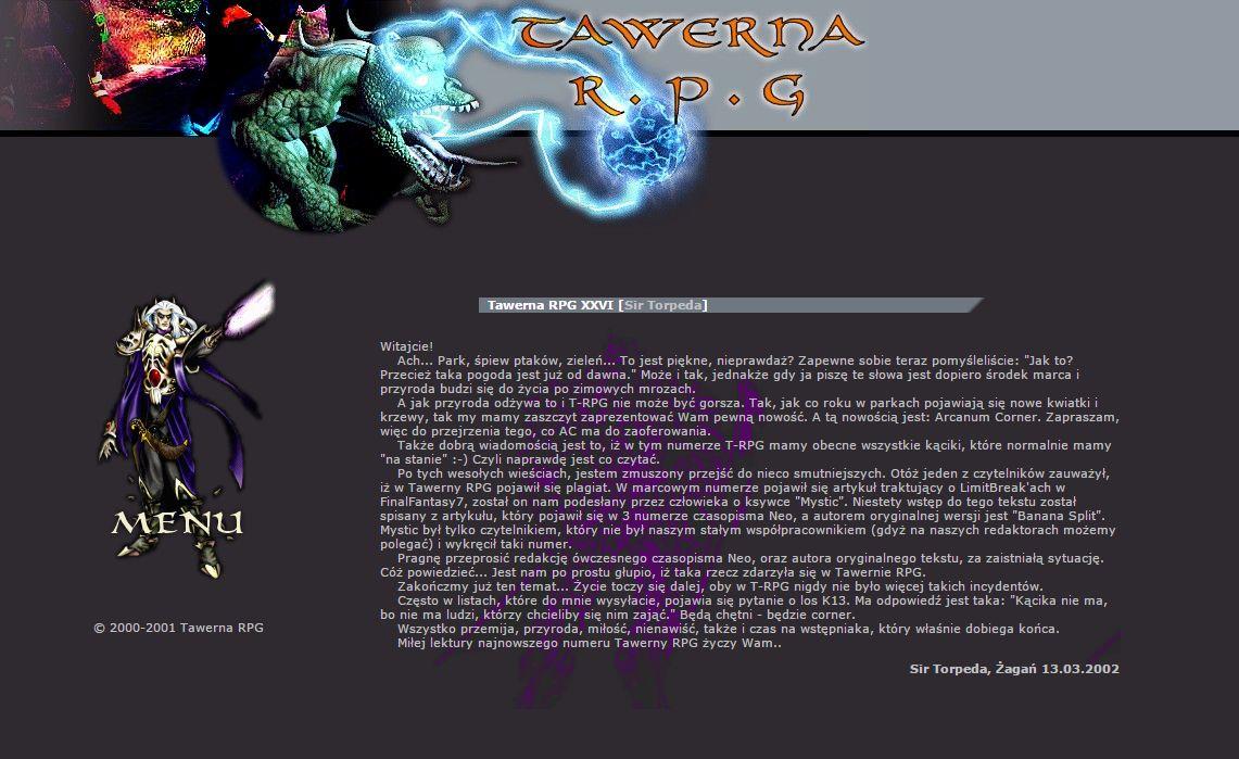 Tawerna RPG #026 - maj 2002