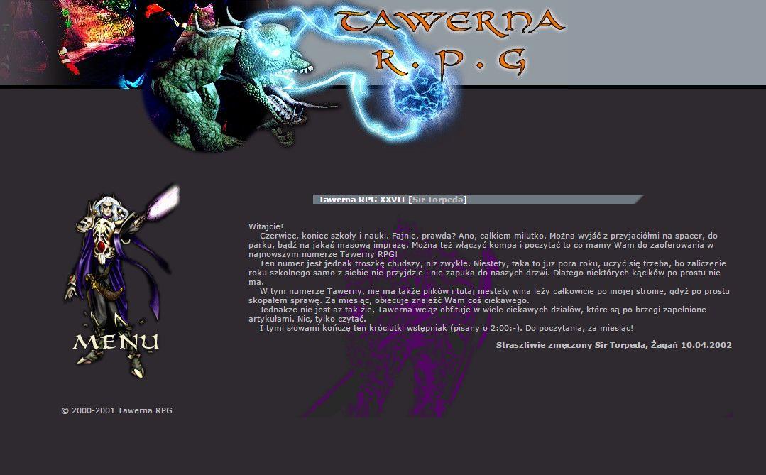 Tawerna RPG #027 - czerwiec 2002