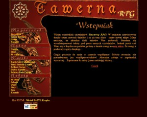 Trzeci numer Tawerny RPG i trzecia grafika. Wersja odrestaurowana