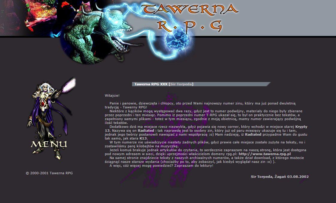 Tawerna RPG #030 – wrzesień 2002