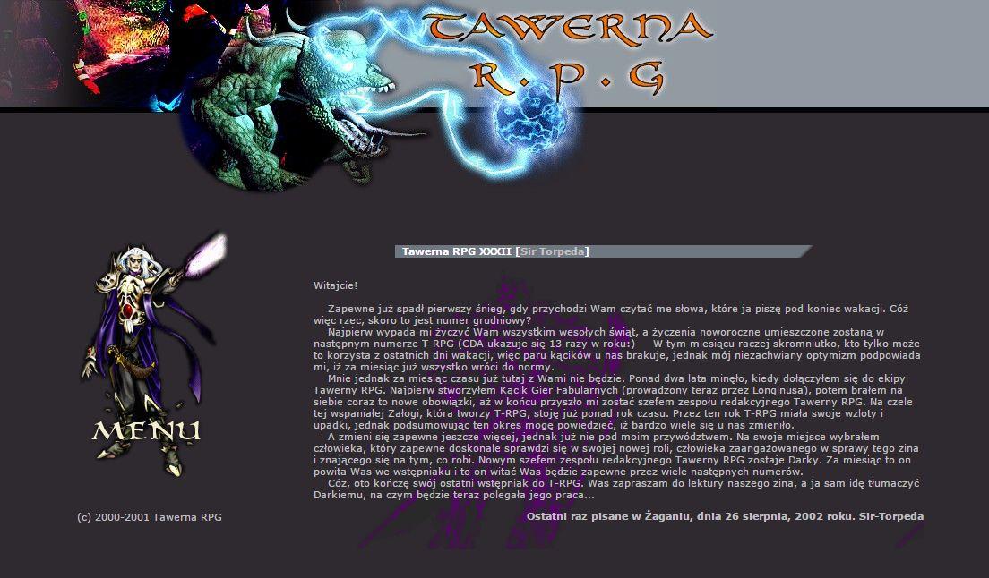 Tawerna RPG #032 - listopad 2002