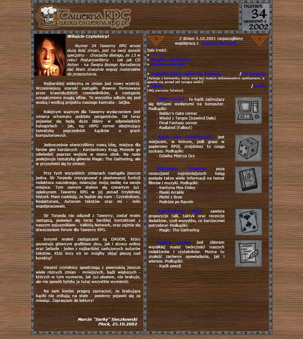 Tawerna RPG #034 - specjalny 2002