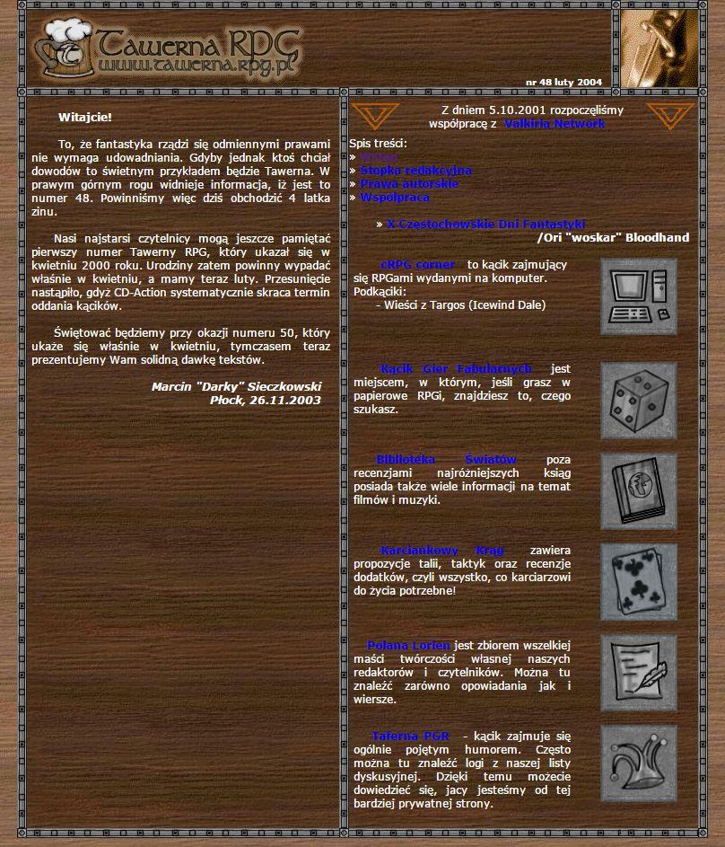 Tawerna RPG #048 - styczeń 2004
