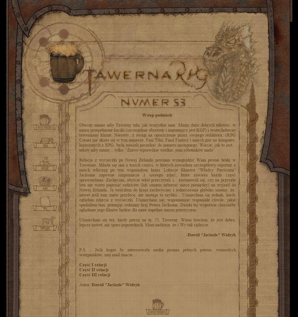 Tawerna RPG #053 - czerwiec 2004