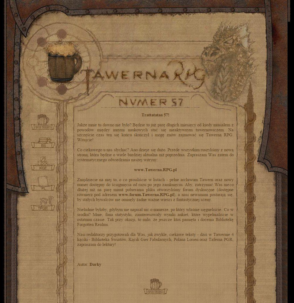 Tawerna RPG #057 - październik 2004