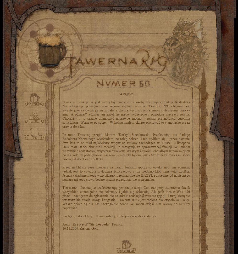 Tawerna RPG #060 - specjalny 2004