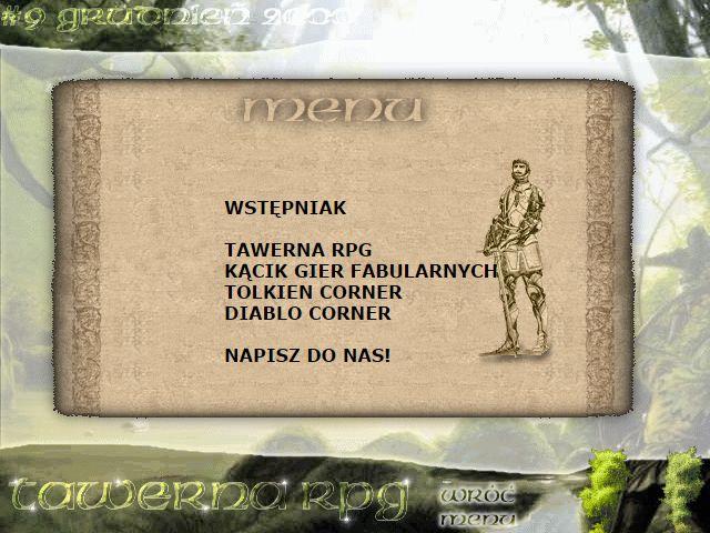 Tawerna RPG #009 - grudzień 2000
