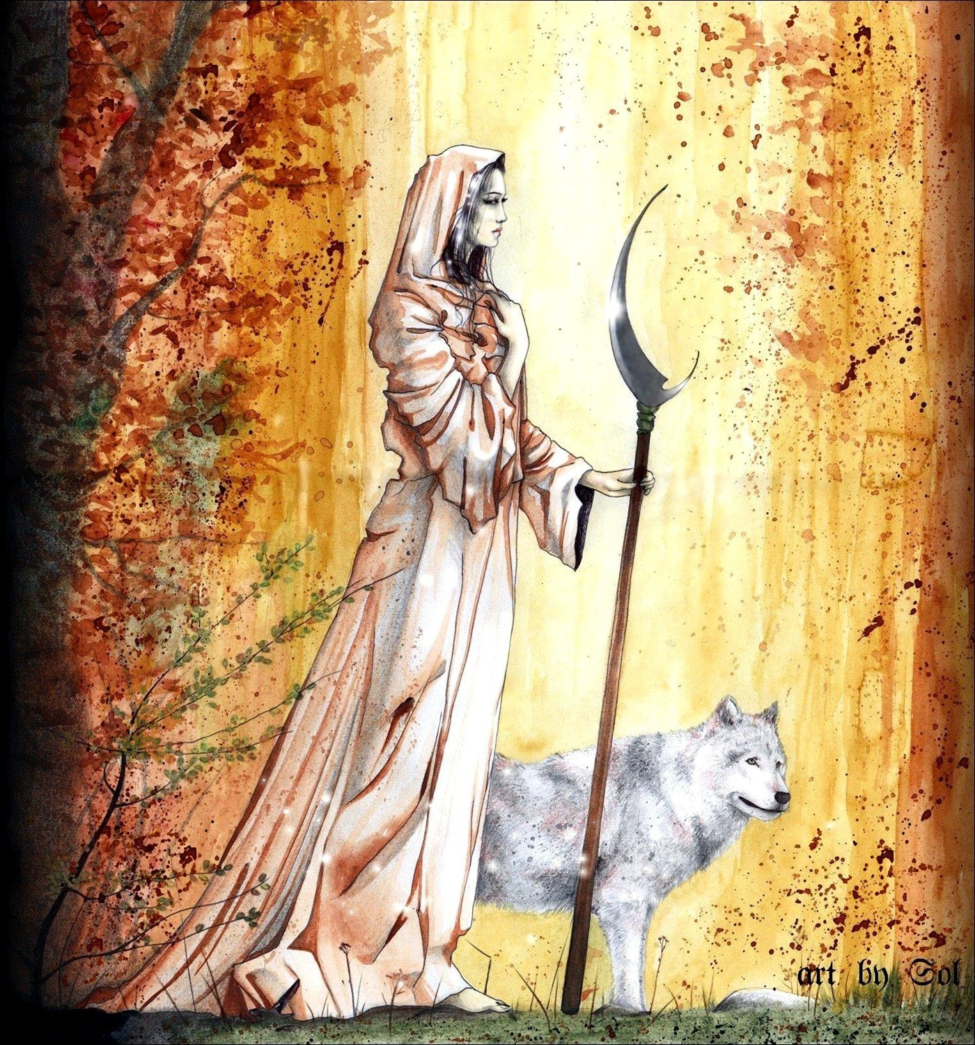 Lady of the Wood - Sol Angelica