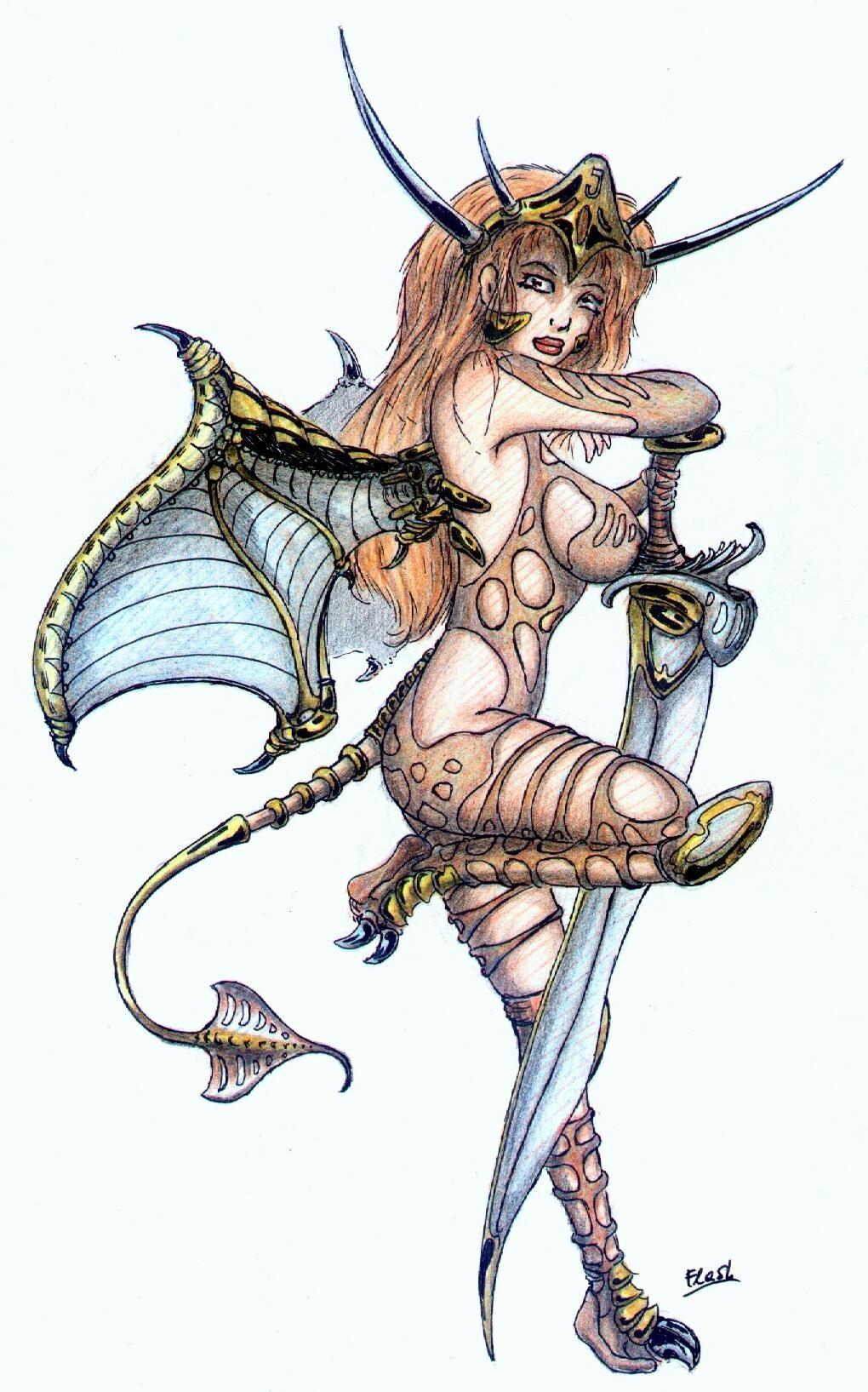 Dragonfly Sword - Flash