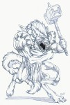 Attacking Werewolf - Flash